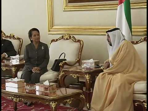 Meeting with His Highness Sheikh Khalifa