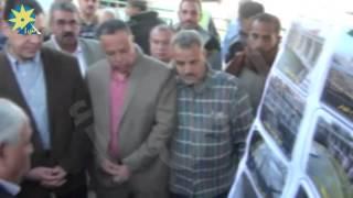 بالفيديو: وزير الرى ومحافظ اسيوط يتفقدان أعمال حماية جوانب نهر النيل بالنمايسة و فم ترعة الابراهيمية