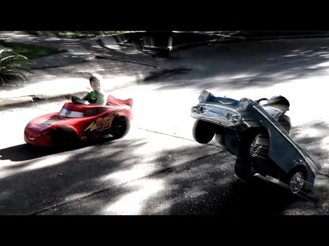 Modified Power Wheels Grudge Race WHEELSTAND!  The Fast and The Furious Edit :)