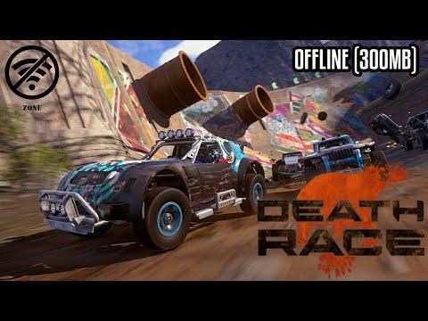OFFLINE !! DEATH RACE MOD APK (300MB) - Game Offline HD Android