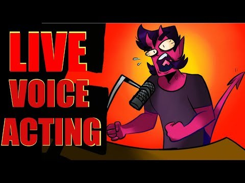 Live Voice Acting - Stream 1