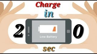 Charge in 20 seconds || Charge fast