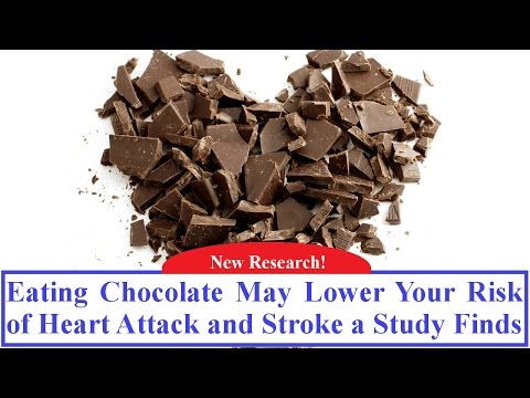 Eating Chocolate May Lower Your Risk of Heart Attack and Stroke a Study Finds