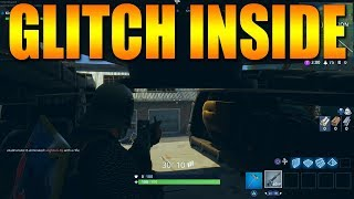 Glitch Inside Solid Object Fortnite Battle Royale Glitch