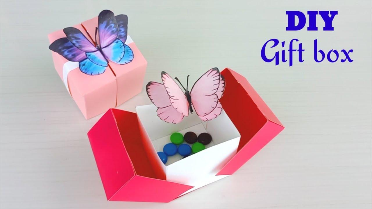 DIY GIFT BOX IDEAS | Gift Ideas | Gift Box /Handmade gift box idea /origami box /Gift box for friend