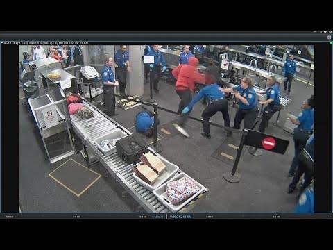 RAW VIDEO: Man attacks TSA agents at Phoenix Sky Harbor