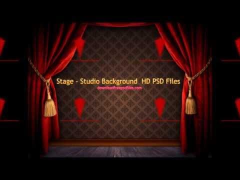 Studio background psd file