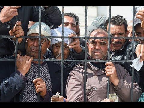 مظاهرات تونسية رفضاً للحظر التام بعد تفشي كورونا  - نشر قبل 14 ساعة