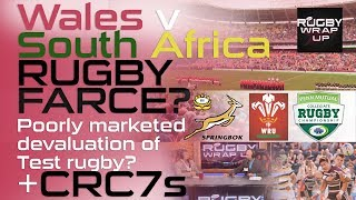 Wales v South Africa, CRC 7s:  Lewis & McCarthy Butt Heads re Success of Each  | RUGBY WRAP UP