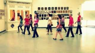 MIDNIGHT WALTZ -  LINE DANCE(WALK THROUGH)