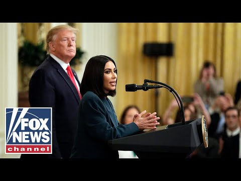 Trump, Kim Kardashian deliver remarks on second chance hiring