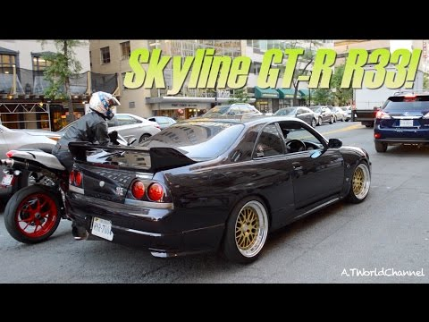 Rare Unicorn! Nissan Skyline GT-R R33 V-Spec in America! 日産スカイラインR33