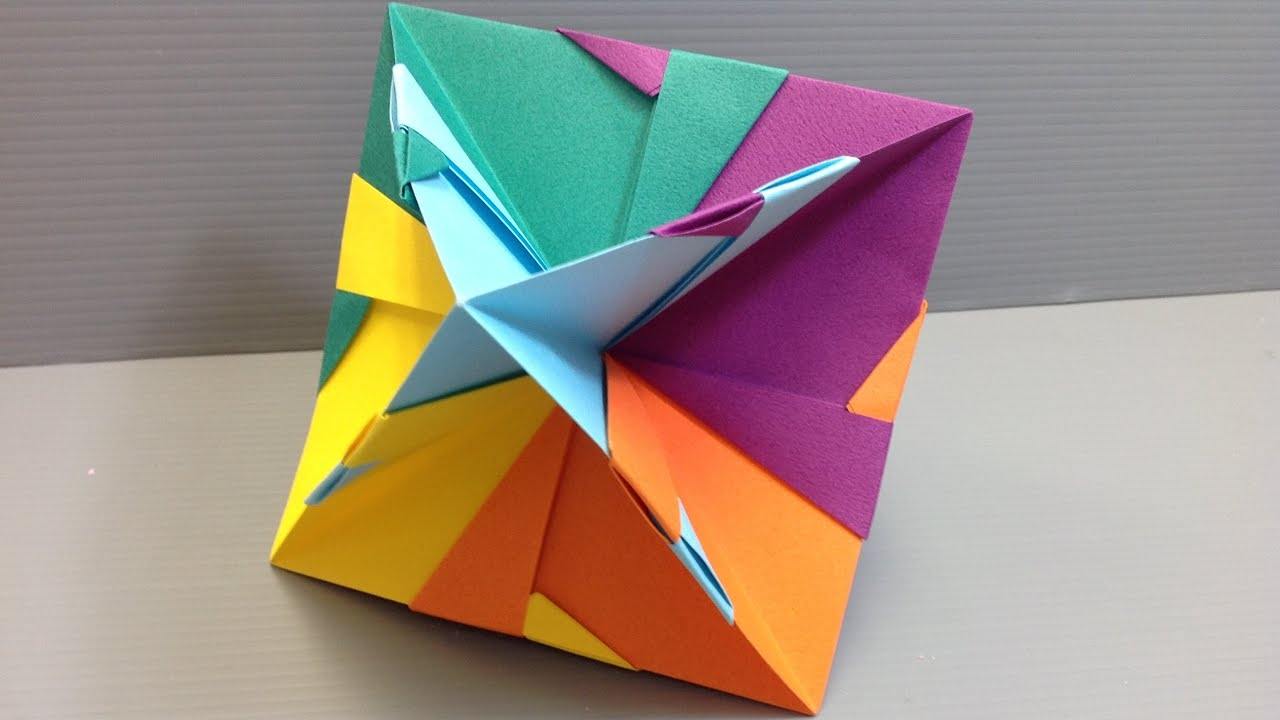 30 Absolutely Beautiful Origami Kusudamas | 720x1280