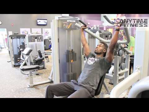 How To: Precor Multi-Press Machine [Bench Press | Shoulder Press] Anytime Fitness LKN