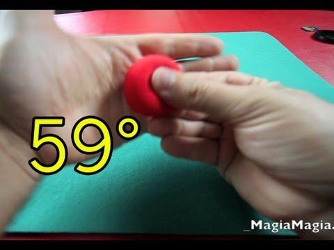 59° Easy Sponge Ball magic trick (revealed)