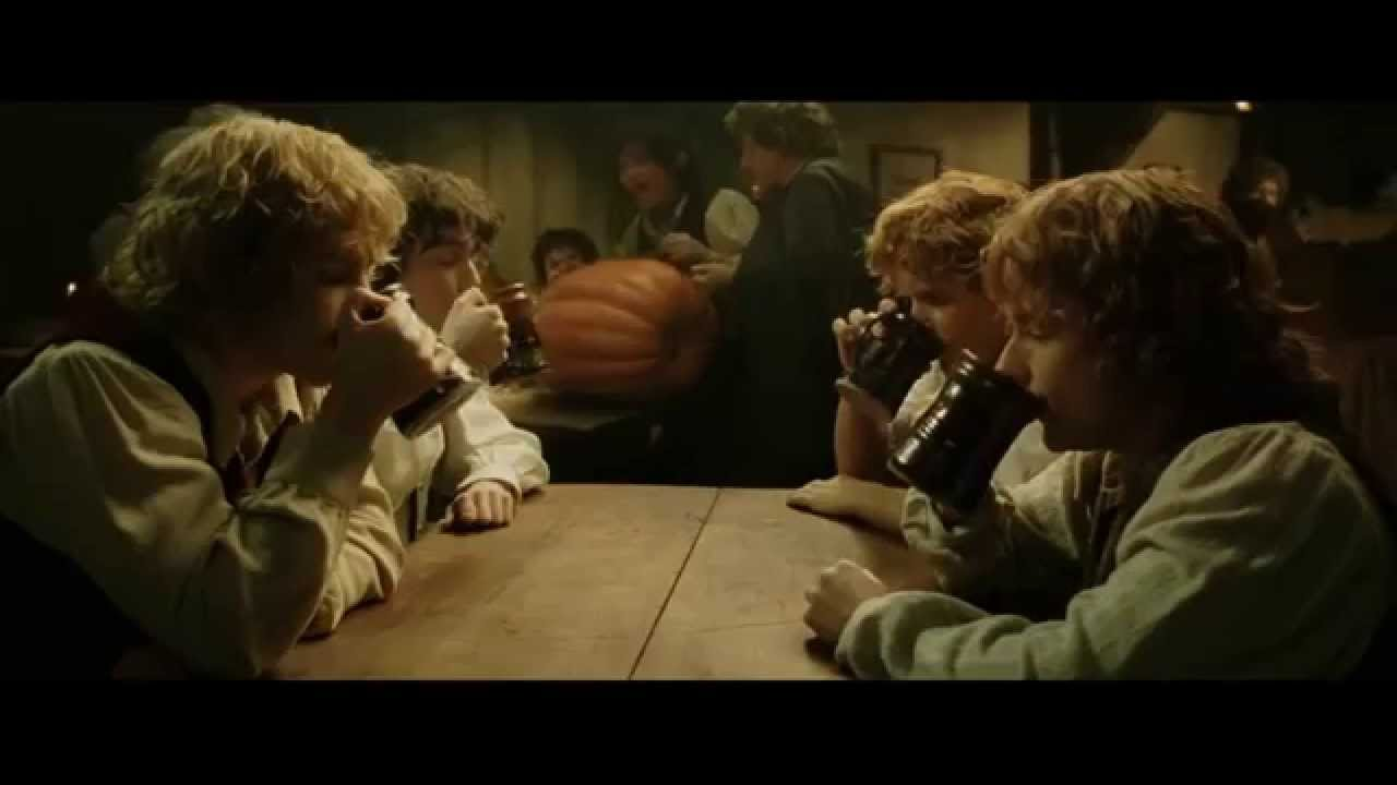 Lord of the Rings : The Return of the King Frodo comes back to the Shire -  YouTube