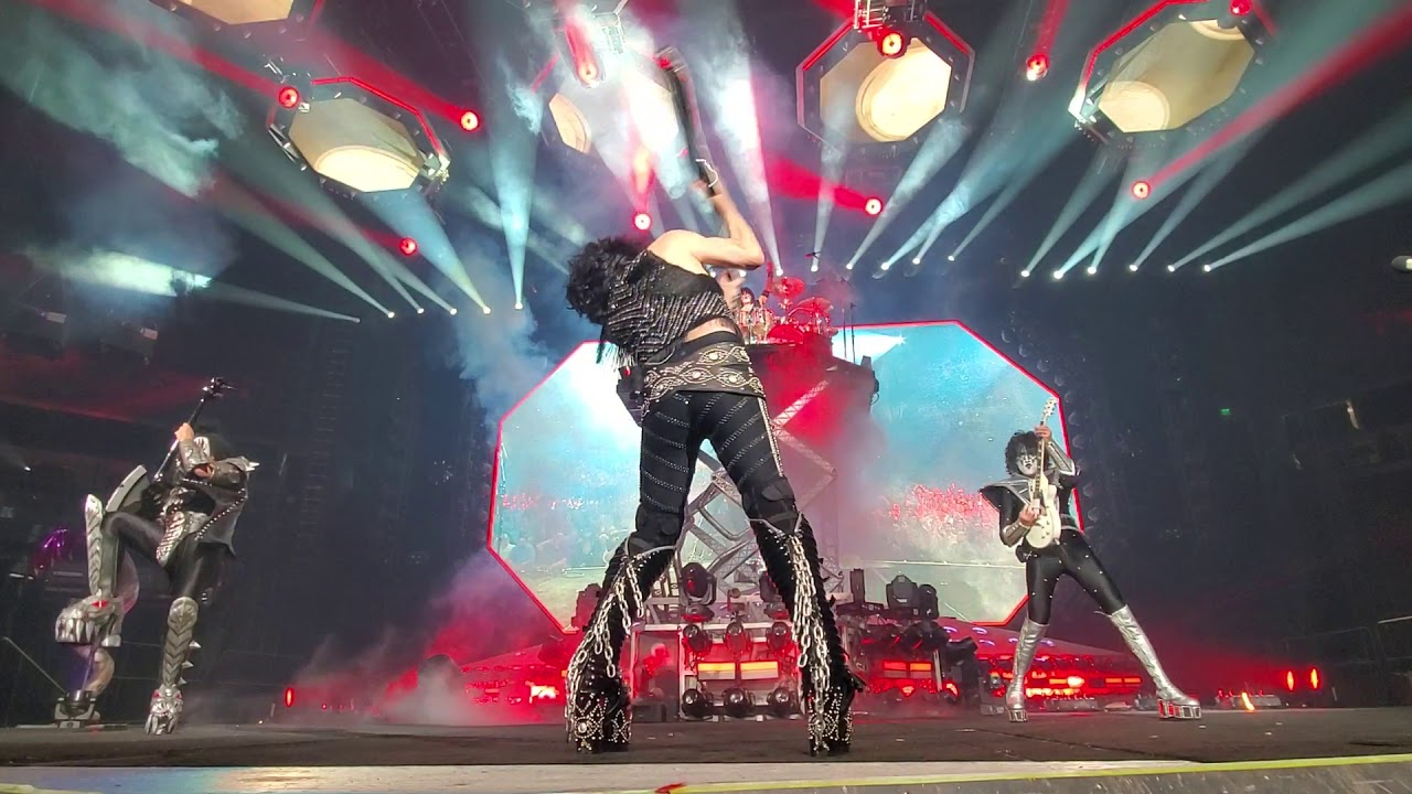 KISS — Rock and Roll All Nite Columbia, SC
