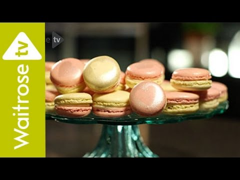 How to Make Lemon and Raspberry Macaroons | Waitrose