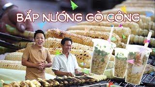 Bắp nướng Gò Công ở quận 5 - ngon nhức răng, bán hàng trăm trái mỗi ngày | 360 ĐỘ NGON