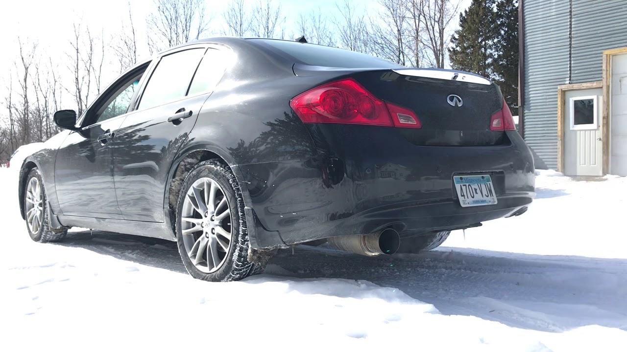 G37 Sedan Greddy RS Single Exit Exhaust