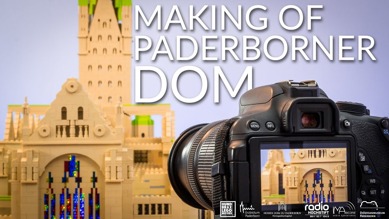 Making of LEGO Paderborner Dom