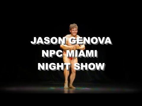 PART 2 | JASON GENOVA NPC MIAMI SHOW | NIGHT | VLOG