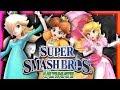PEACH VS DAISY VS ROSALINA Super Smash Bros Ultimate BATTLE OF THE KINGDOM mp3