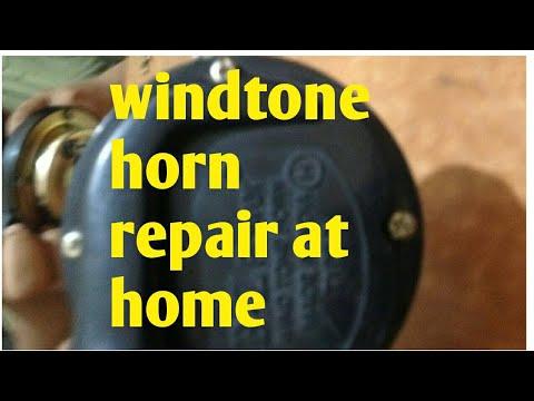 How to repair windtone horn at home // Vehicle Guruji \\ by gaurav