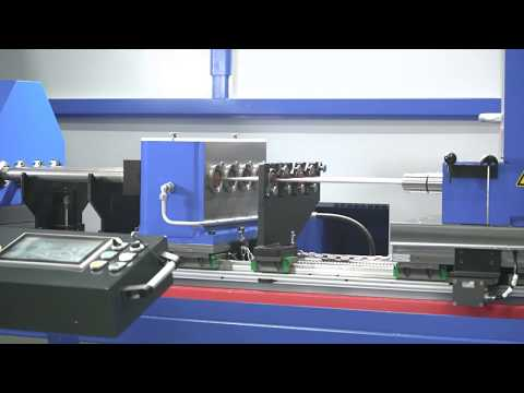 Tibo-Deep hole drilling machine - How to produce a deep hole with a gun drill