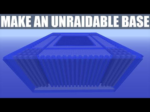 Minecraft How To Make A Unraidable Faction Base Advanced Tips Extreme Defense