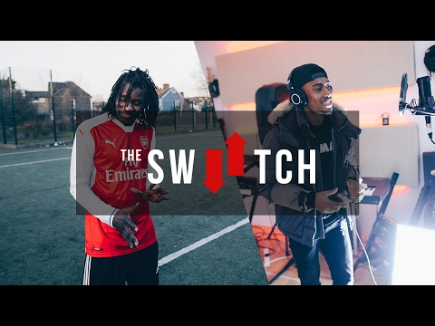 Crazy Penalty Shootout! Wretch 32 Vs Alex Iwobi | The Switch