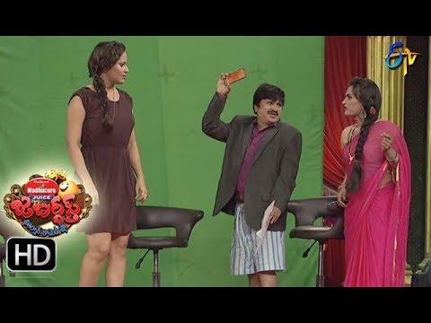 Rocket Raghava Performance | Jabardsth | 7th September 2017| ETV  Telugu
