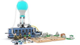How To Make Fortnite Battle Bus With Lego ?