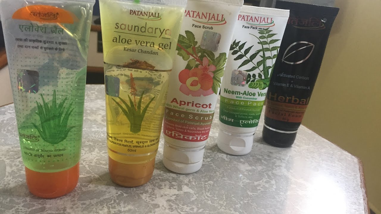 at home facial products