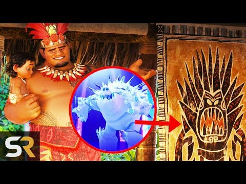 Thumbnail: 10 Hidden Details In Disney's Moana You Totally Missed