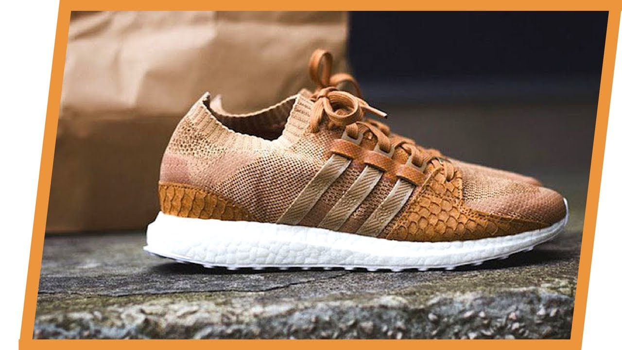 sports shoes 0dbcc 842fb Review do Adidas King Push EQT Ultra Boost 'Brown' (UNBOXING)
