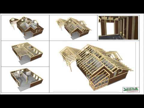 Examples of SEMA timber construction software