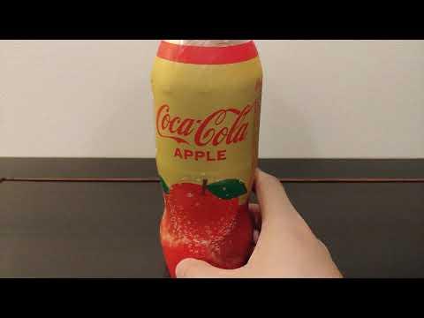 Coca-Cola Apple | Taste Test & Review | Japanese Soft Drink | Tokyo, Japan