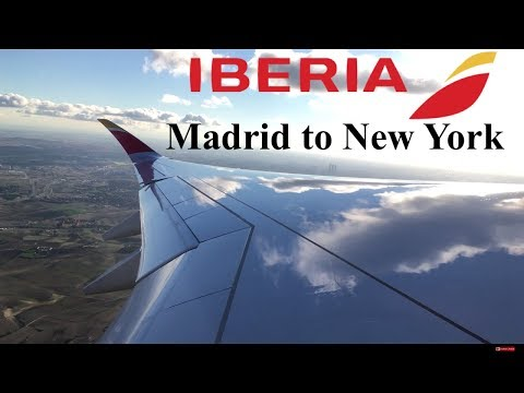 Reporte de viaje: Iberia Airbus A350-900 gorgeous takeoff from Madrid. MAD-JFK.