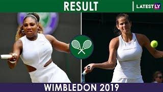 Wimbledon 2019 Women's Singles Results of July 6, Scoreboard, Order of Play on July 7