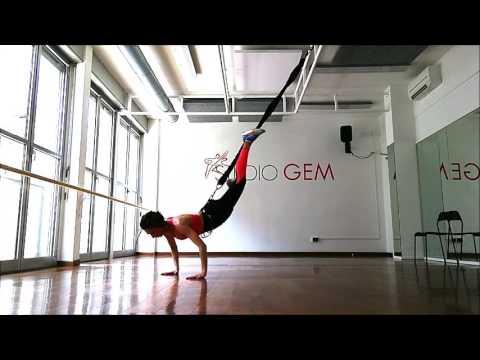 Presentazione Bungee fit training - Milano -