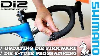 Shimano Di2 Firmware Updates // Di2 E-Tube Programming via USB (Windows)