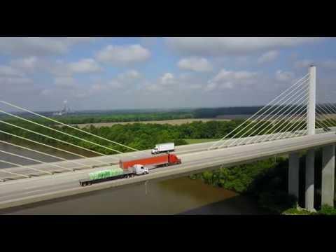 DJI Mavic Pro 4K Interstate 295 Varina Enon Bridge