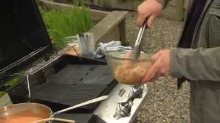 Paul Flynn- Summer Bbq Recipes- Grilled Chicken With Garlic, Tomato & Goat's Cheese Sauce