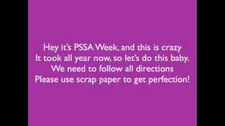 Repeat youtube video Test me Maybe (PSSA Video)