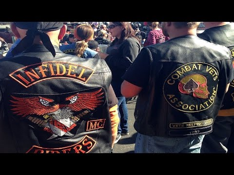20+ Biker Clubs Converge; No Injuries Reported
