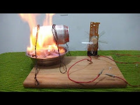 Como hacer un generador de energ a el ctrica maqueta - Como se limpia una casa ...