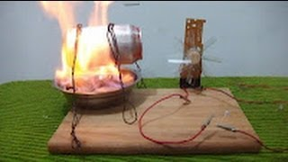 Como hacer un generador de energía elé...