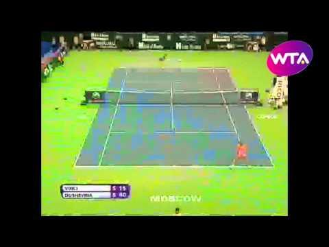 Roberta Vinci v Vera Dushevina WTA Moscow Highlights
