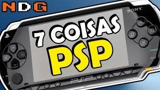 7 Coisas sobre o Playstation Portátil PSP Curiosidades de Consoles